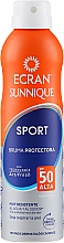 Düfte, Parfümerie und Kosmetik Unsichtbares Sonnenschutzspray mit Zitronenöl SPF 50 - Ecran Sun Lemonoil Sport Spray Invisible SPF50