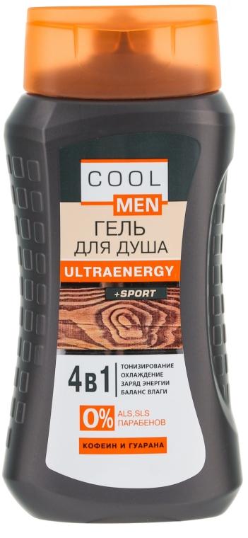 Energetisierendes Duschgel-Schampoo mit Koffein und Guaraná - Cool Men Ultraenergy + Sport — Bild N1
