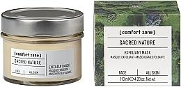 Düfte, Parfümerie und Kosmetik Exfolierende und aufhellende Gesichtsmaske - Comfort Zone Sacred Nature Exfoliant Mask