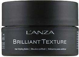 Düfte, Parfümerie und Kosmetik Haarstyling-Balsam - L'anza Healing Style Brilliant Texture Balm
