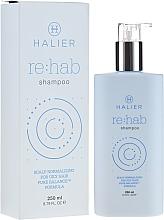 Düfte, Parfümerie und Kosmetik Normalisierendes Shampoo für fettiges Haar - Halier Re:hab Shampoo