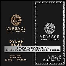 Düfte, Parfümerie und Kosmetik Versace Dylan Blue Pour Homme - Duftset (Eau de Toilette/30ml + Eau de Toilette/30ml)
