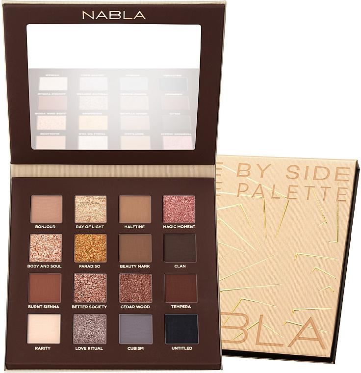 Lidschatten-Palette - Nabla Side By Side Nude Palette