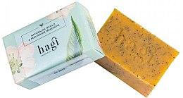 Düfte, Parfümerie und Kosmetik Naturseife mit Sanddornöl und Mohn - Hagi Natural Soap