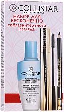 Düfte, Parfümerie und Kosmetik Make-up Set (Make-up Entferner 50ml + Wimperntusche 11ml + Kajalstift 1,2g) - Collistar Infinite Seduction