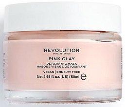 Düfte, Parfümerie und Kosmetik Detox-Maske für das Gesicht mit rosa Tonerde - Makeup Revolution Skincare Pink Clay Detoxifying Face Mask