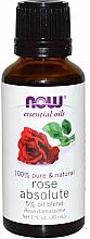 Düfte, Parfümerie und Kosmetik Ätherisches Jojobaöl mit 5% Rosenölanteil - Now Foods Essential Oils 100% Pure Rose Absolute