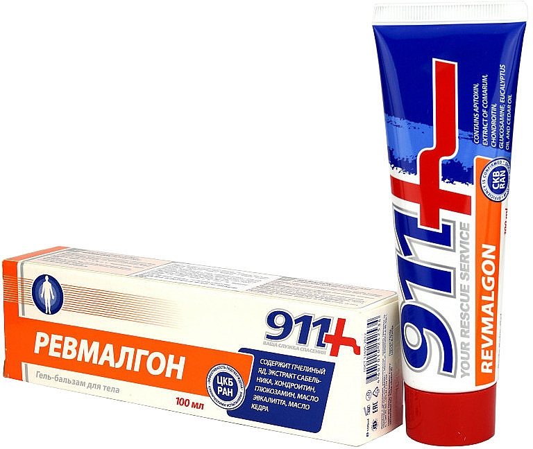 Körpergel-Balsam gegen Muskel- und Gelenkschmerzen - 911