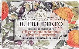 Düfte, Parfümerie und Kosmetik Naturseife Olive & Tangerine - Nesti Dante Moisturizing & Nourishing Soap Il Frutteto Collection