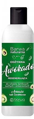 Haarspülung für sprödes, trockenes und strapaziertes Haar Avocado - Barwa Avocado Hair Conditioner