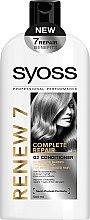 Düfte, Parfümerie und Kosmetik Haarspülung für schwaches und zerbrechliches Haar - Syoss Renew 7 Complete Repair Conditioner