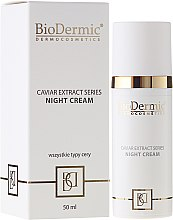 Düfte, Parfümerie und Kosmetik Nachtcreme - BioDermic Caviar Extract Night Cream