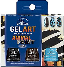 Düfte, Parfümerie und Kosmetik Set - IBD Just Gel Polish Animal Print Gel Art(nail/lacquer/7,4mlx3)