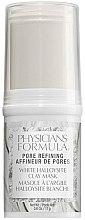 Düfte, Parfümerie und Kosmetik Porenreinigende Gesichtsmaske mit Halloysite-Tonerde - Physicians Formula Pore Refining White Halloysite Clay Mask