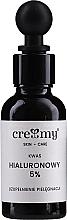 Düfte, Parfümerie und Kosmetik Hyaluronsäure 5% - Creamy