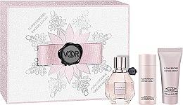 Düfte, Parfümerie und Kosmetik Viktor & Rolf Flowerbomb - Duftset (Eau de Parfum 30ml + Duschgel 50ml + Körpercreme 40ml)