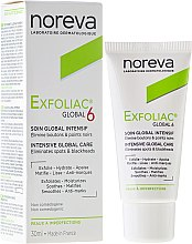 Düfte, Parfümerie und Kosmetik Intensiv pflegende Gesichtscreme gegen Pigmentflecken und Mitesser - Noreva Exfoliac Global 6 Severe Imperfections Cream