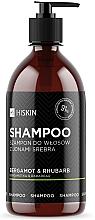 Düfte, Parfümerie und Kosmetik Pflegendes Shampoo mit Silberionen, Bergamotte und Rhabarber - HiSkin Bergamot & Rhubarb Shampoo