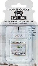 Düfte, Parfümerie und Kosmetik Auto-Lufterfrischer - Yankee Candle Car Jar Ultimate Fluffy Towels
