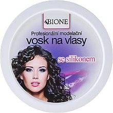 """Düfte, Parfümerie und Kosmetik Haarwachs """"Repair & Style"""" für trockenes & strapaziertes Haar - Bione Cosmetics Professional Hair Wax Silicone"""