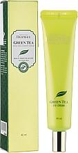 Düfte, Parfümerie und Kosmetik Feuchtigkeitsspendende Augencreme mit grünem Tee - Deoproce Premium Greentea Total Solution Eye Cream