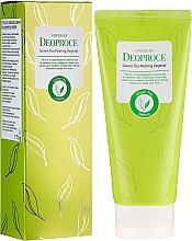 Düfte, Parfümerie und Kosmetik Hypoallergenes Peelinggel für das Gesicht mit grünem Tee - Deoproce Premium Green Tea Peeling Vegetal