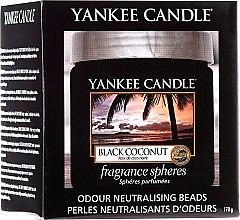 Düfte, Parfümerie und Kosmetik Duftsphäre mit Perlen Black Coconut - Yankee Candle Black Coconut Fragrance Spheres