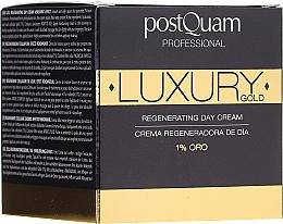 Düfte, Parfümerie und Kosmetik Regenerierende Tagescreme - PostQuam Luxury Gold Regenerating Day Cream