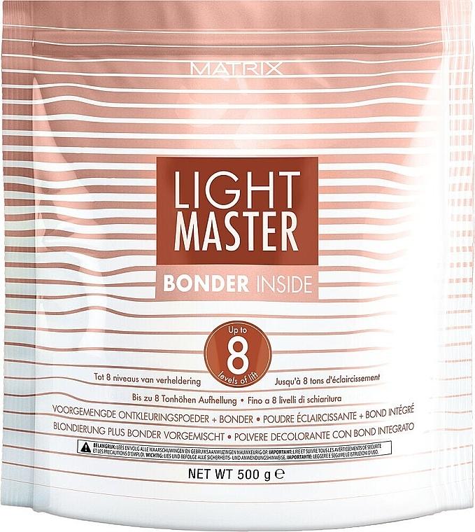 Blondierpulver mit Panthenol - Matrix Light Master 8 Bonder Inside