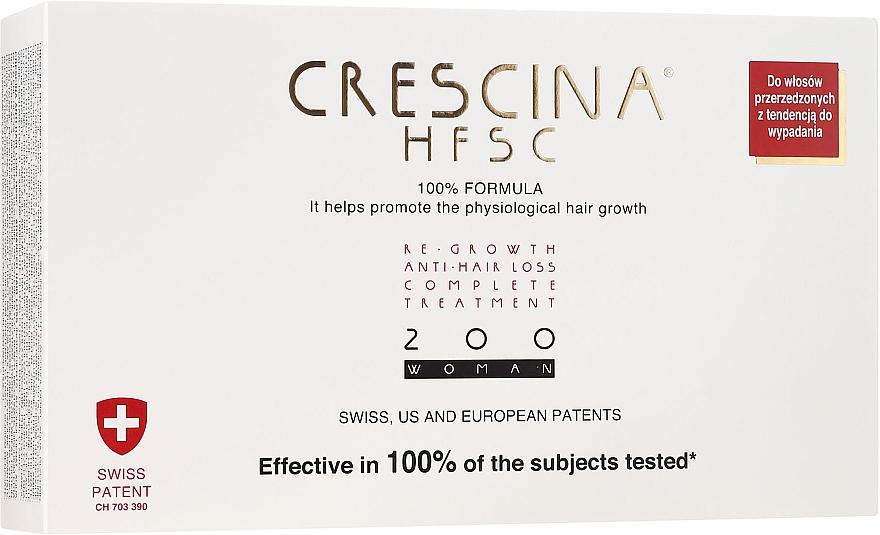 Ampullen gegen Haarausfall für Frauen 200 - Crescina Re-Growth HFSC Formula 100%