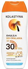 Düfte, Parfümerie und Kosmetik Wasserdichte Sonnenschutzcreme LSF 30 - Kolastyna Suncare Emulsion SPF 30