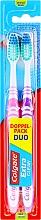 Düfte, Parfümerie und Kosmetik Zahnbürste mittel Extra Clean lila, rosa 2 St. - Colgate Expert Cleaning Medium Toothbrush