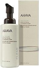Düfte, Parfümerie und Kosmetik Sanfter Gesichtsreinigungsschaum - Ahava Time to Clear Gentle Facial Cleansing Foam