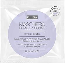 Düfte, Parfümerie und Kosmetik Maske gegen Augenringe & Schwellungen - Pupa Mask To Fight Puffy Eyes And Dark Circles