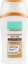 Düfte, Parfümerie und Kosmetik Anti-Aging Gesichtsreinigungsmilch mit Arganöl für normale und trockene Haut - Clinians Latte & Olio Cleansing Milk