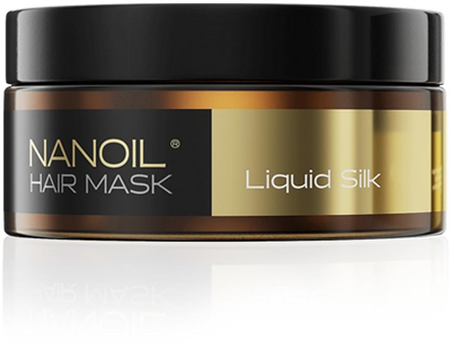 Regenerierende Haarmaske mit Seidenproteinen - Nanoil Liquid Silk Hair Mask