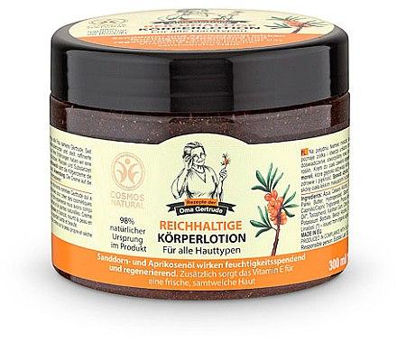 Reichhaltige Körperlotion für alle Hauttypen - Rezepte der Oma Gertrude Body Cream — Bild N1