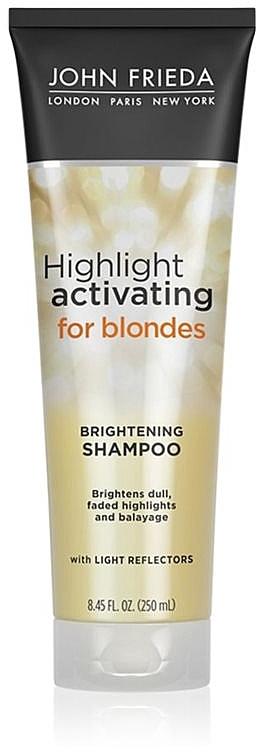 Hydratisierendes Shampoo für blonde Haare - John Frieda Sheer Blonde Highlight Activating Moisturising Shampoo