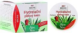Düfte, Parfümerie und Kosmetik Intensive feuchtigkeitsspendende Gesichtscreme - Bione Cosmetics Aloe Vera Hydrating Facial Cream With Panthenol And Ectoine
