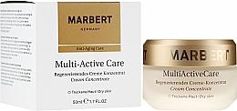 Düfte, Parfümerie und Kosmetik Regenerierendes Gesichtscreme-Konzentrat mit Pflanzenproteinen - Marbert Anti-Aging Care MultiActive Care Regenerating Cream Concentrate