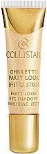Düfte, Parfümerie und Kosmetik Cremige Lidschatten - Collistar Party Look Eye Shadow Rhinestone Effect