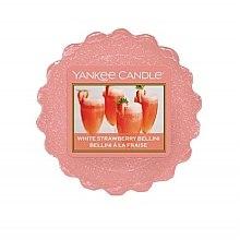 Düfte, Parfümerie und Kosmetik Duftendes Wachs - Yankee Candle White Strawberrty Bellini