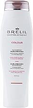 Düfte, Parfümerie und Kosmetik Anti-Gelbstich Shampoo für blondes, gesträhntes Haar mit Bachblüten und Arganöl - Brelil Bio Treatment Colour Sublimeches Shampoo