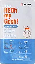 Düfte, Parfümerie und Kosmetik Feuchtigkeitsspendende Gesichtsmaske mit Kamillen und Zuckerahorn-Extrakt - Leaders Daily Rainwater Mask