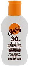 Düfte, Parfümerie und Kosmetik Sonnenschutzlotion für den Körper mit Vitamin E und Aloe Vera SPF 30 - Malibu Lotion SPF30