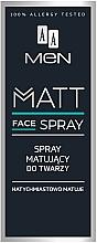 Düfte, Parfümerie und Kosmetik Mattierendes Gesichtsspray für Männer - AA Men Matt Face Spray