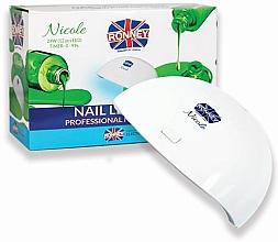 Düfte, Parfümerie und Kosmetik LED-Lampe für Nageldesign weiß - Ronney Profesional Nicole LED 24 W RE 00049 Lamp