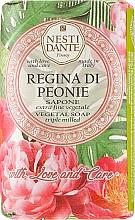Düfte, Parfümerie und Kosmetik Naturseife Regina di Peonie - Nesti Dante Vegetable Soap Love and Care Collection