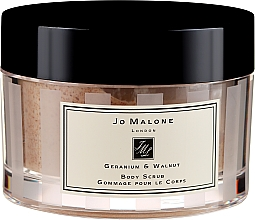 Düfte, Parfümerie und Kosmetik Glättendes Körperpeeling - Jo Malone Geranium And Walnut Body Scrub