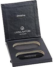 Düfte, Parfümerie und Kosmetik Nachfüllbare Lidschattenbox - Living Nature Eyeshadow Compact Case